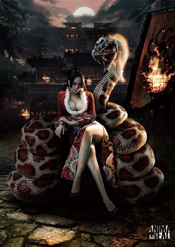 蛇姬女帝,火影纲手,松本乱菊.100%爆乳完美还原!图片