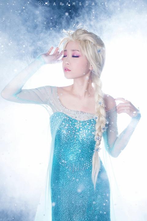 【冰雪奇缘】艾莎公主
